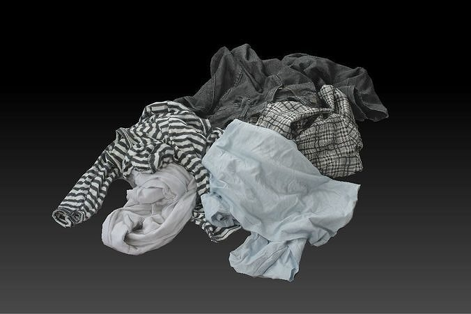 Pile of Cloths 3