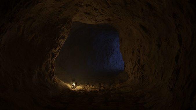 Medieval cave
