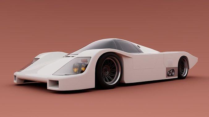 80s Group C racecar