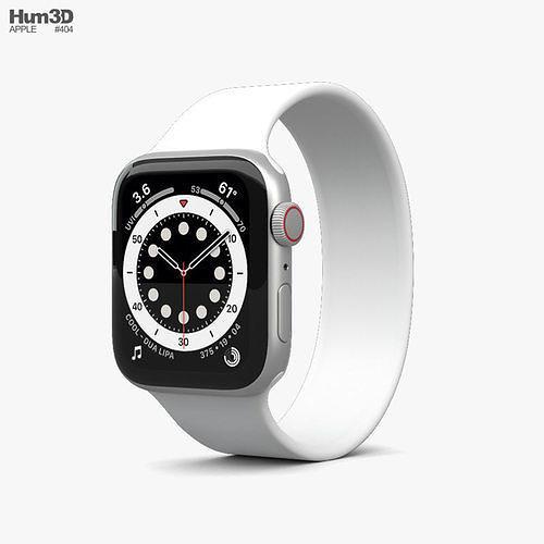Apple Watch Series 6 44mm Aluminum Silver