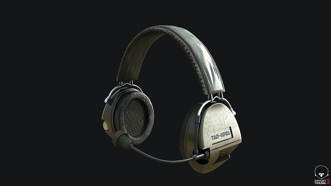 Tactical Headsets Game-ready PBR