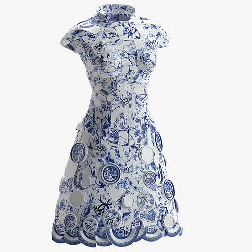 Li Xiaofeng Sculpture dress