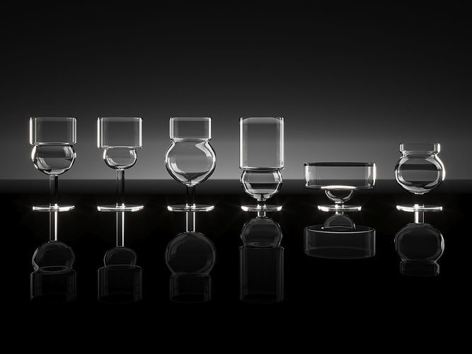 Sferico Glass Collection by Joe Colombo