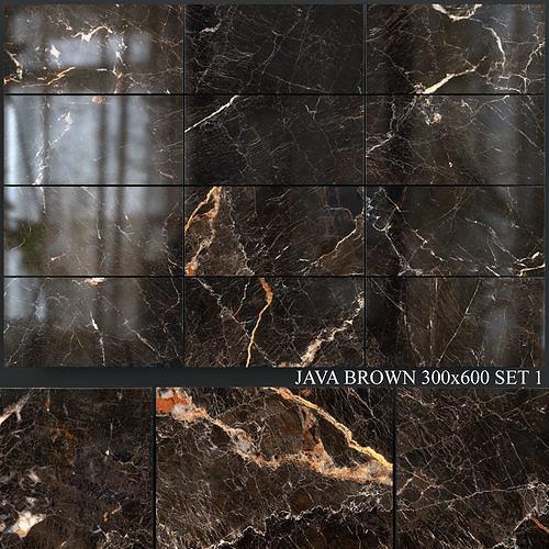 Yurtbay Seramik Java Brown 300x600 Set 1