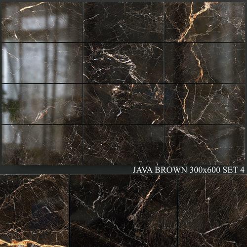 Yurtbay Seramik Java Brown 300x600 Set 4