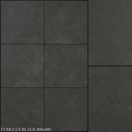 Yurtbay Seramik Cumulus Black 800x800