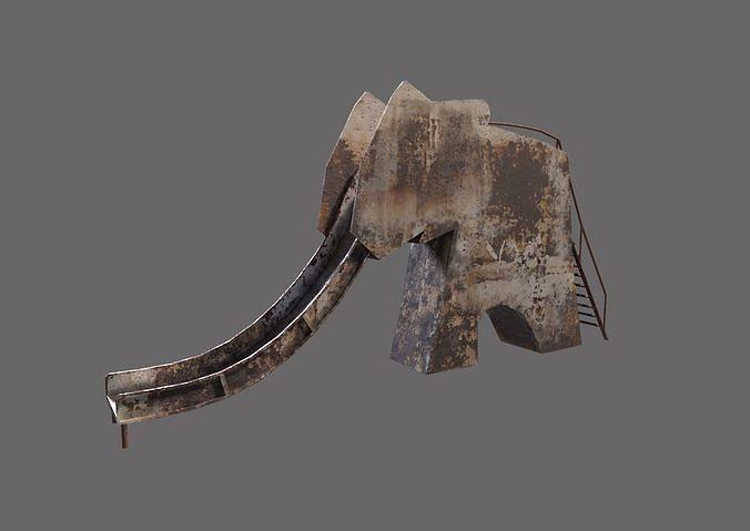Old Elephand Slide in Pripyat