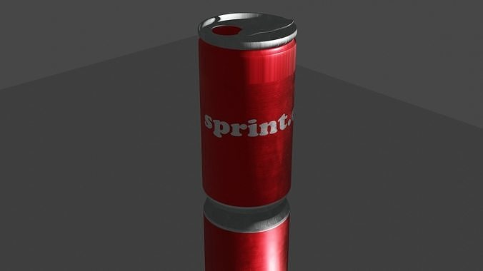 Soda or juice can