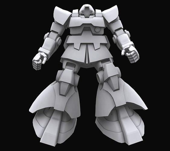 Gundam mobile suit MS09 DOM model