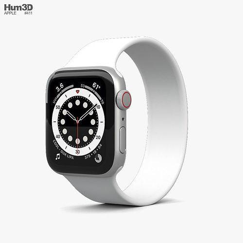 Apple Watch Series 6 40mm Aluminum Silver
