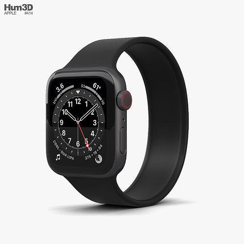 Apple Watch Series 6 40mm Aluminum Space Gray