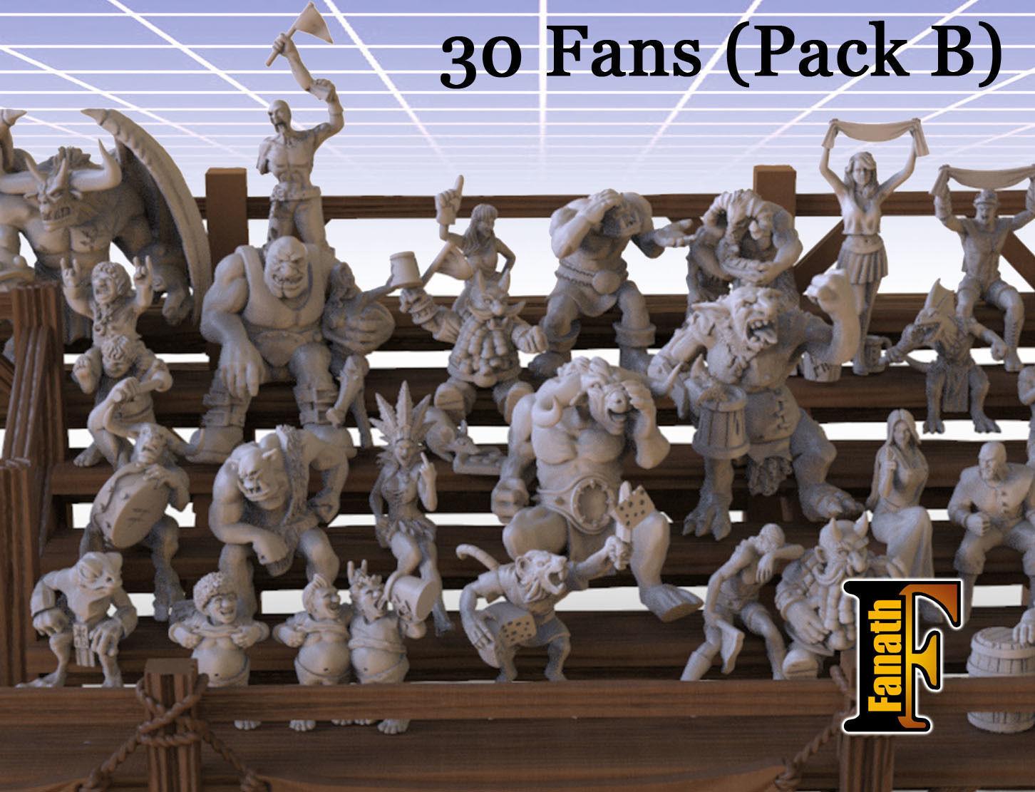 Fans pack B