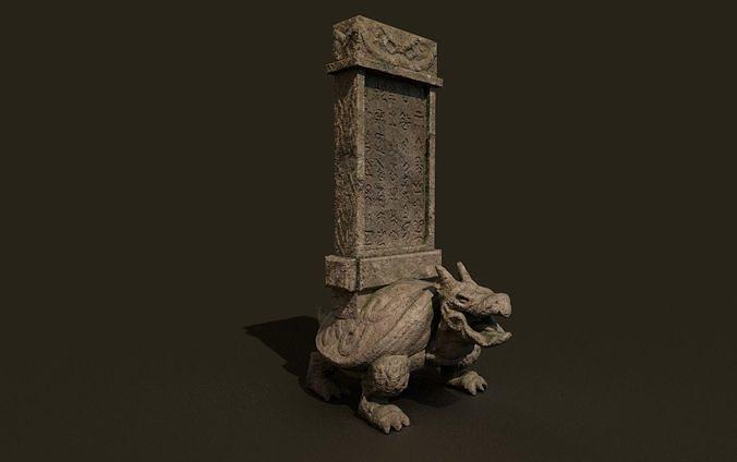 temple stone dragonturtle