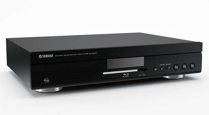 3d digital dvd blu ray player 31 am77 cgtrader. Black Bedroom Furniture Sets. Home Design Ideas