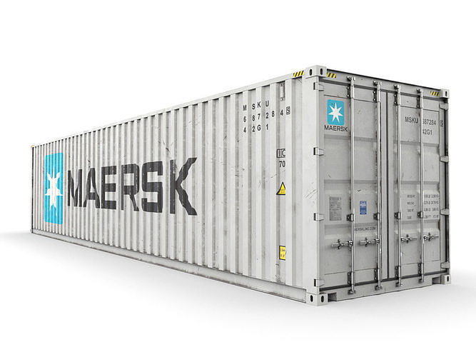 40 feet MAERSK standard shipping container