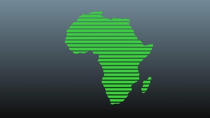 Africa map symbols 1
