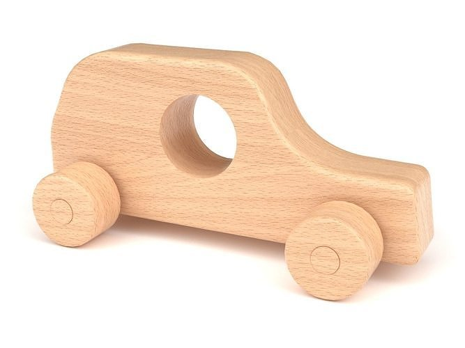 Wooden toy car 42