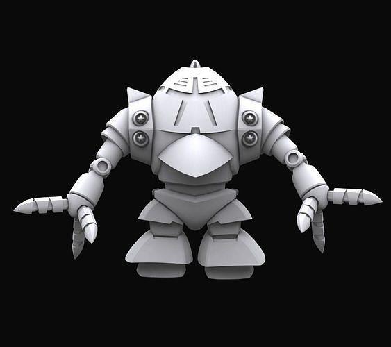 Gundam mobile suit MSM10 model