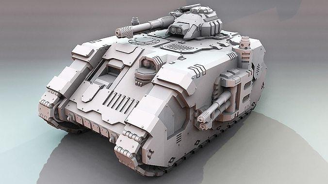Terran Aion Battle Tank