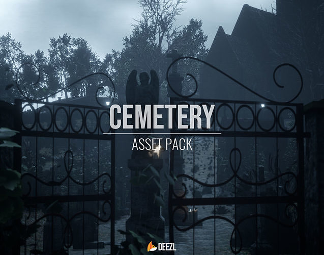 Cemetery Pack - All Formats