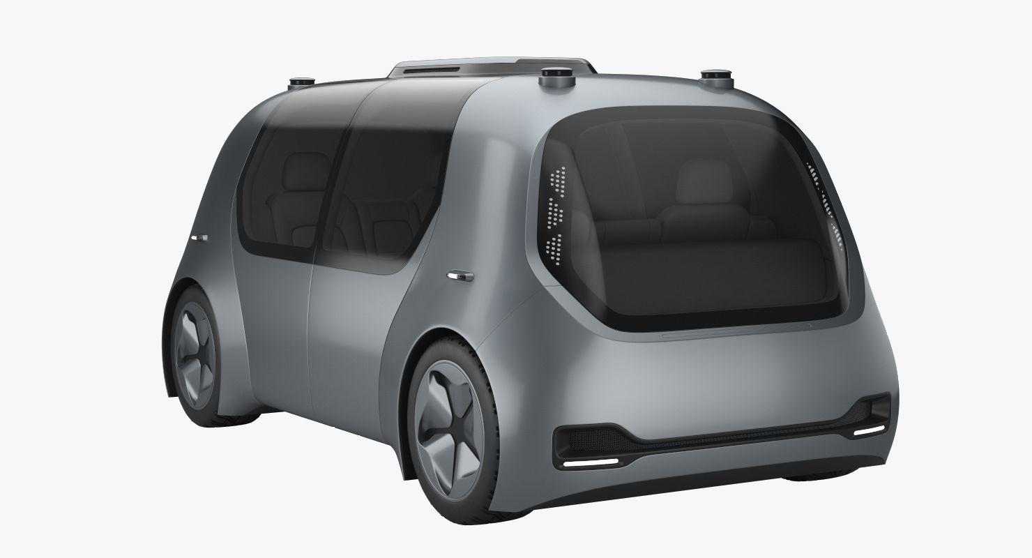Self-Driving Shuttle Concept