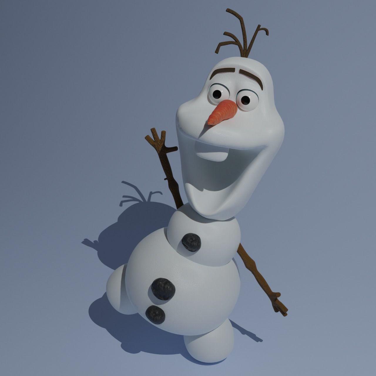 3D Model of Olaf