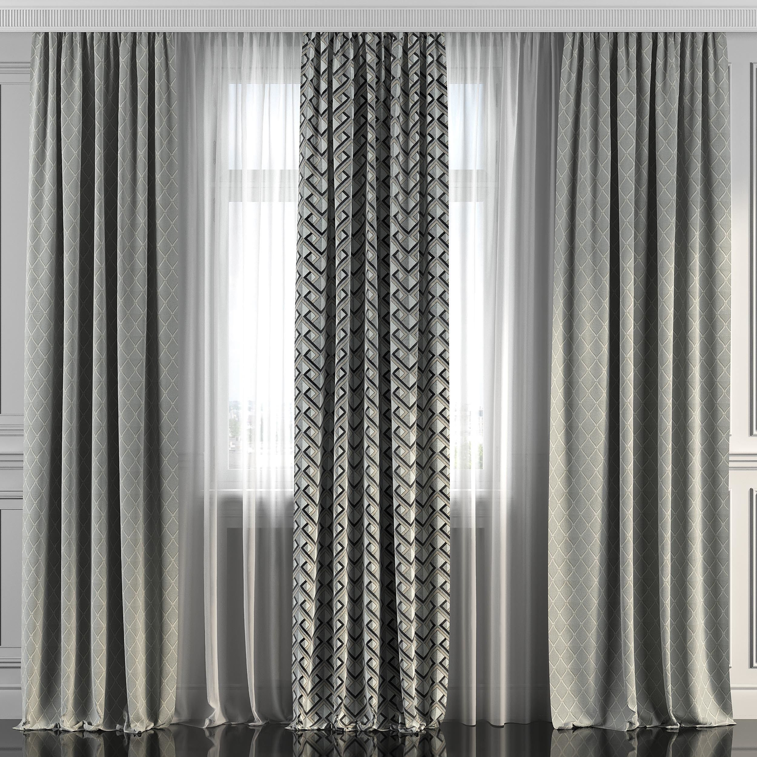 Curtain Set 228