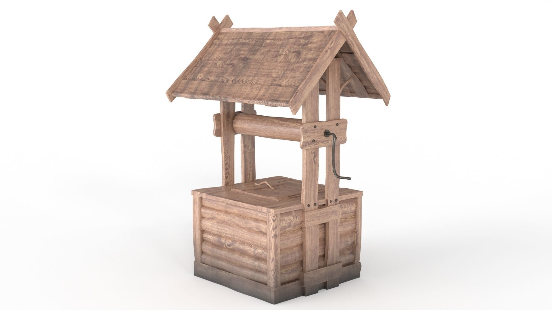 Old Wooden Well