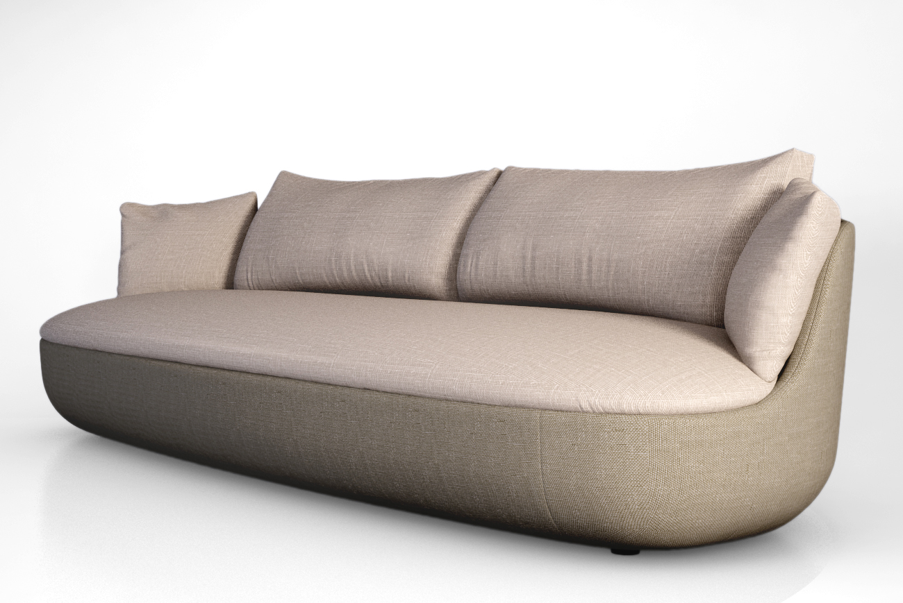 Awesome Moooi Bart Couch 3D Model Pdpeps Interior Chair Design Pdpepsorg