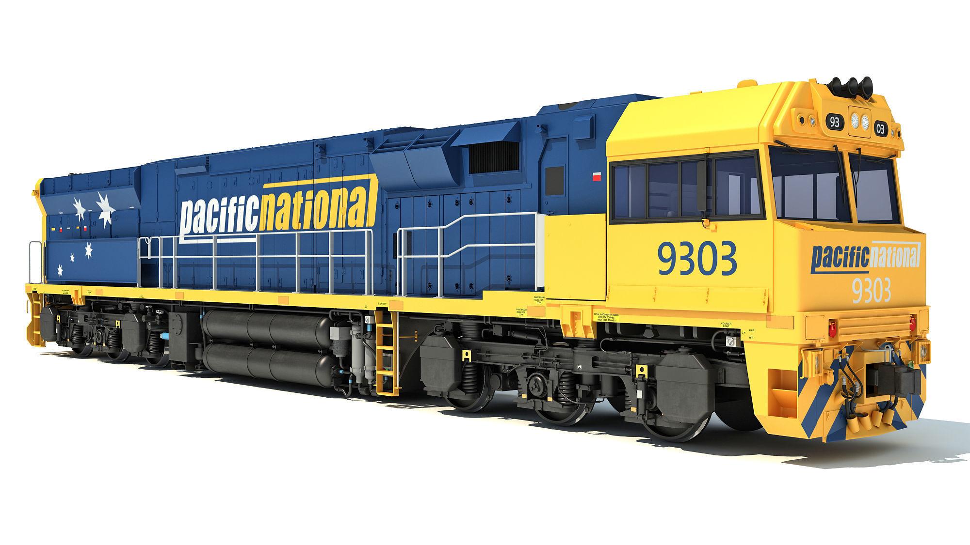 Electric Locomotive C44aci