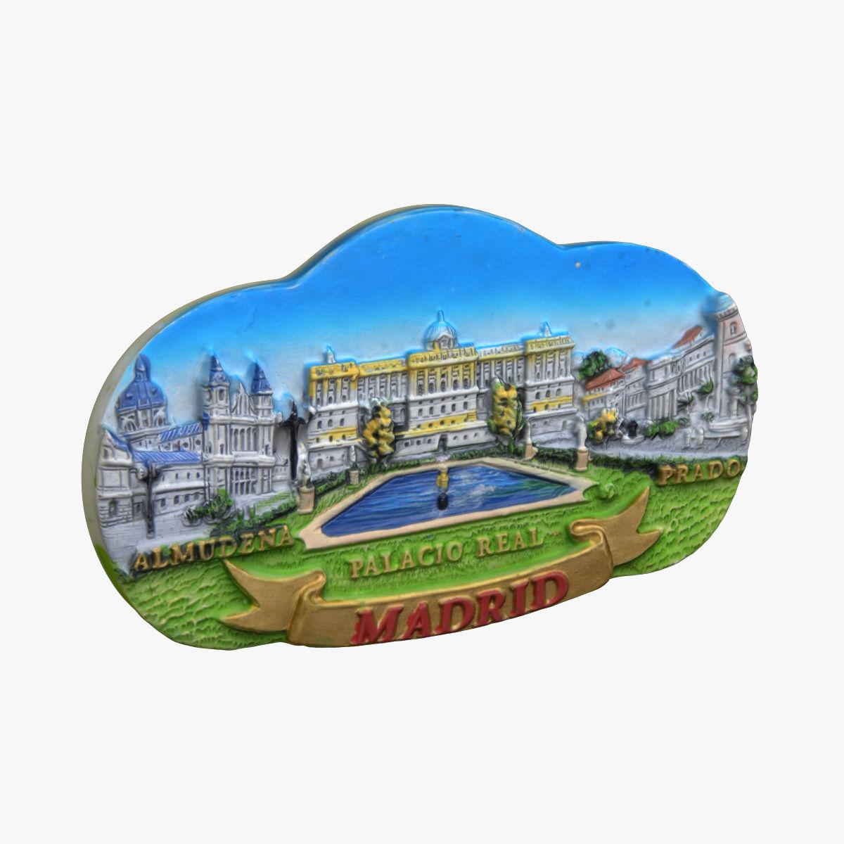Madrid Spain Magnet Souvenir