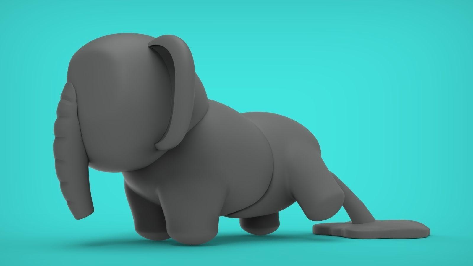 Elephant Peeing