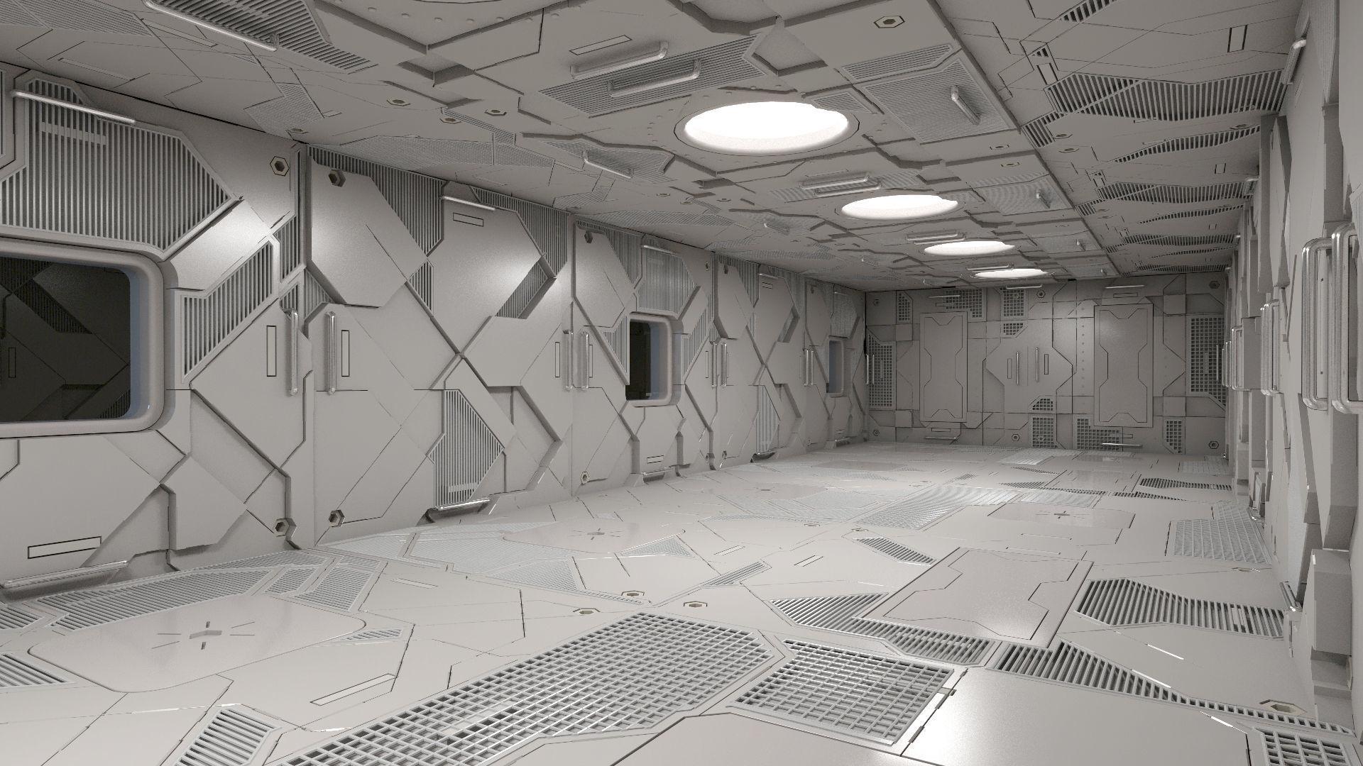 Sci-Fi Interior 101