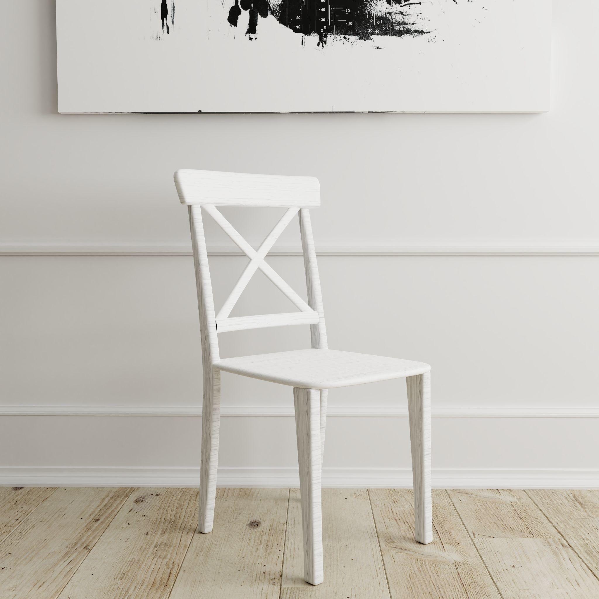 Chair American Wood - Photorealistic PBR