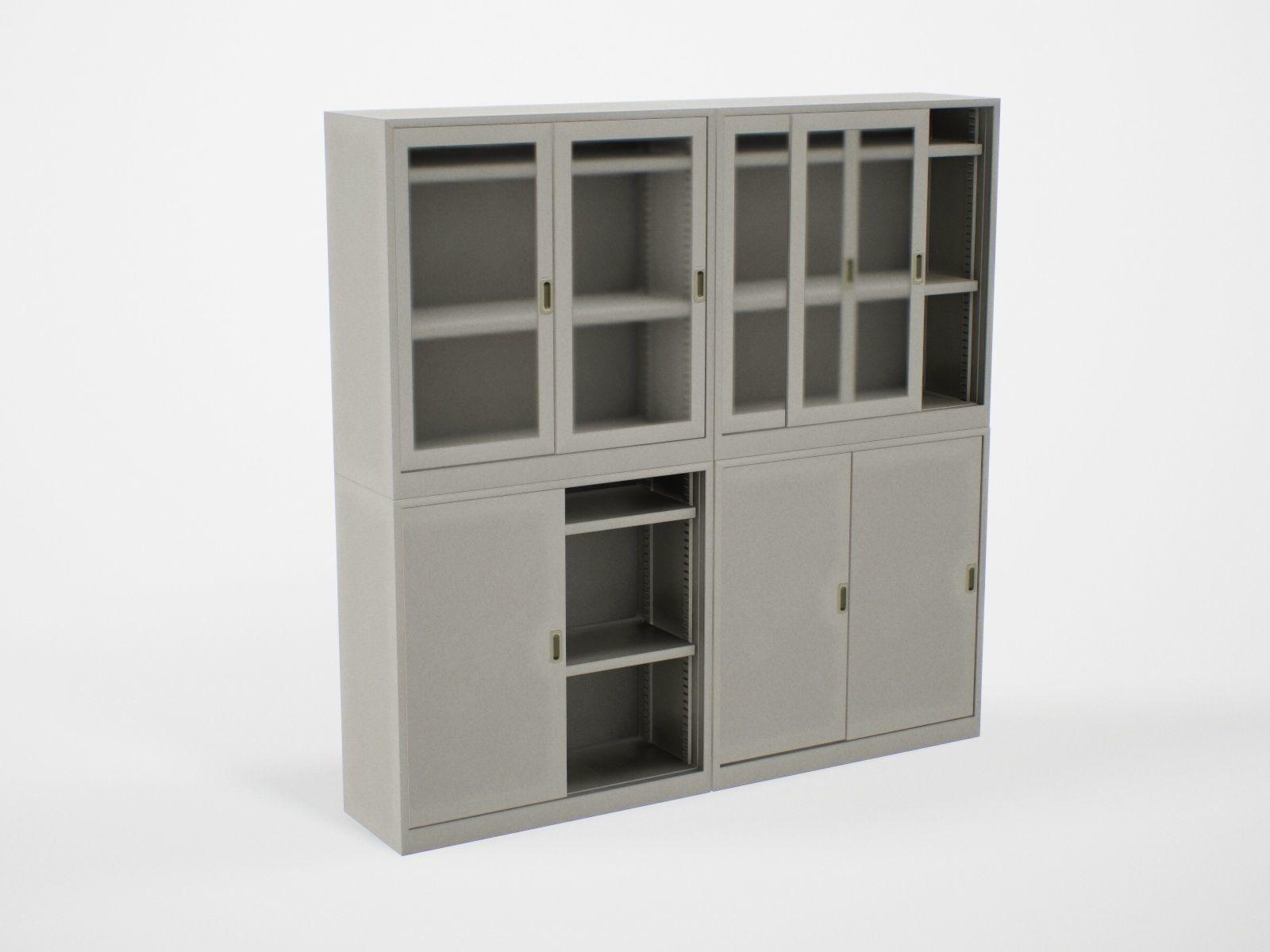 Modular Japanese Office Shelves - 6 models