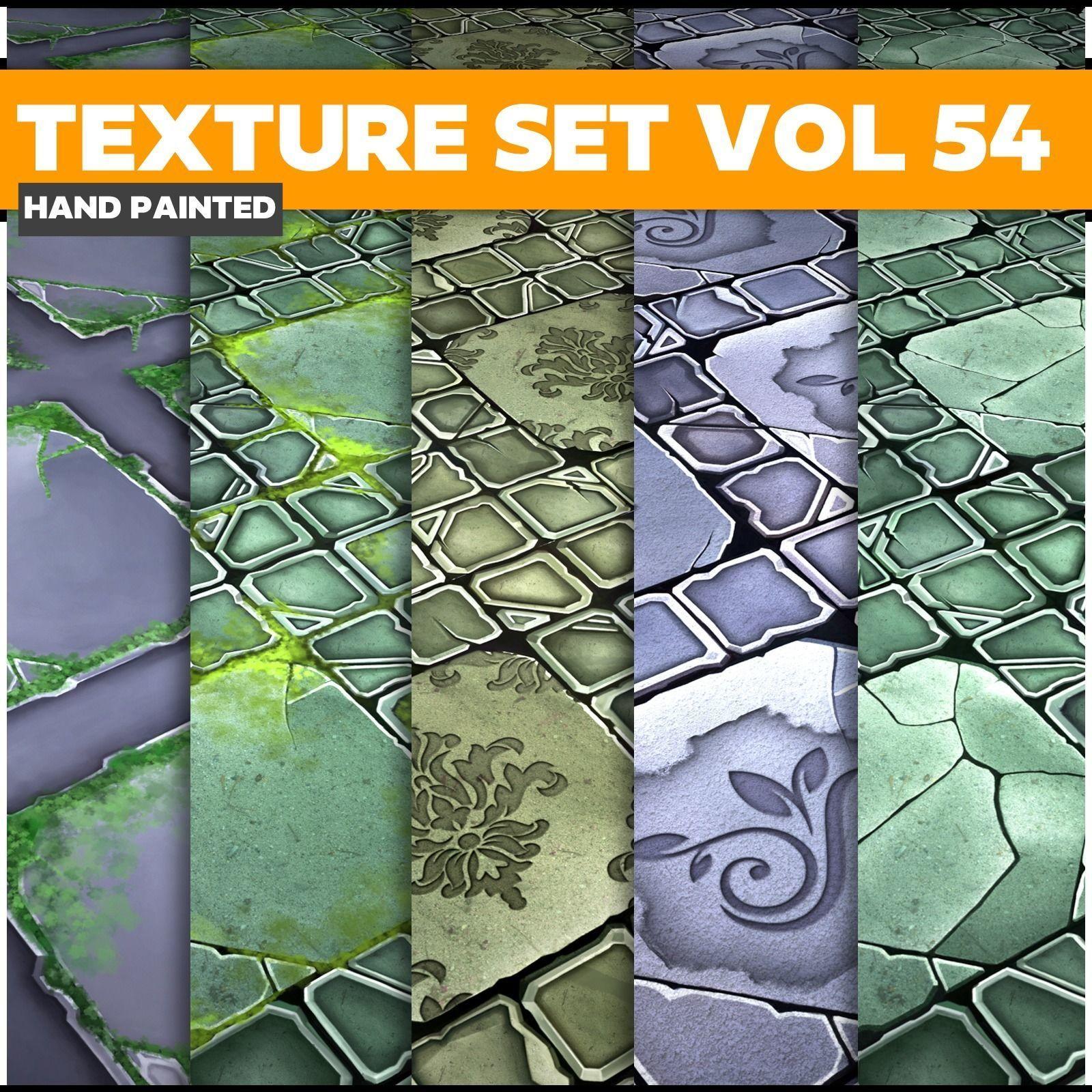 Tiles Vol 54 - Game PBR Textures