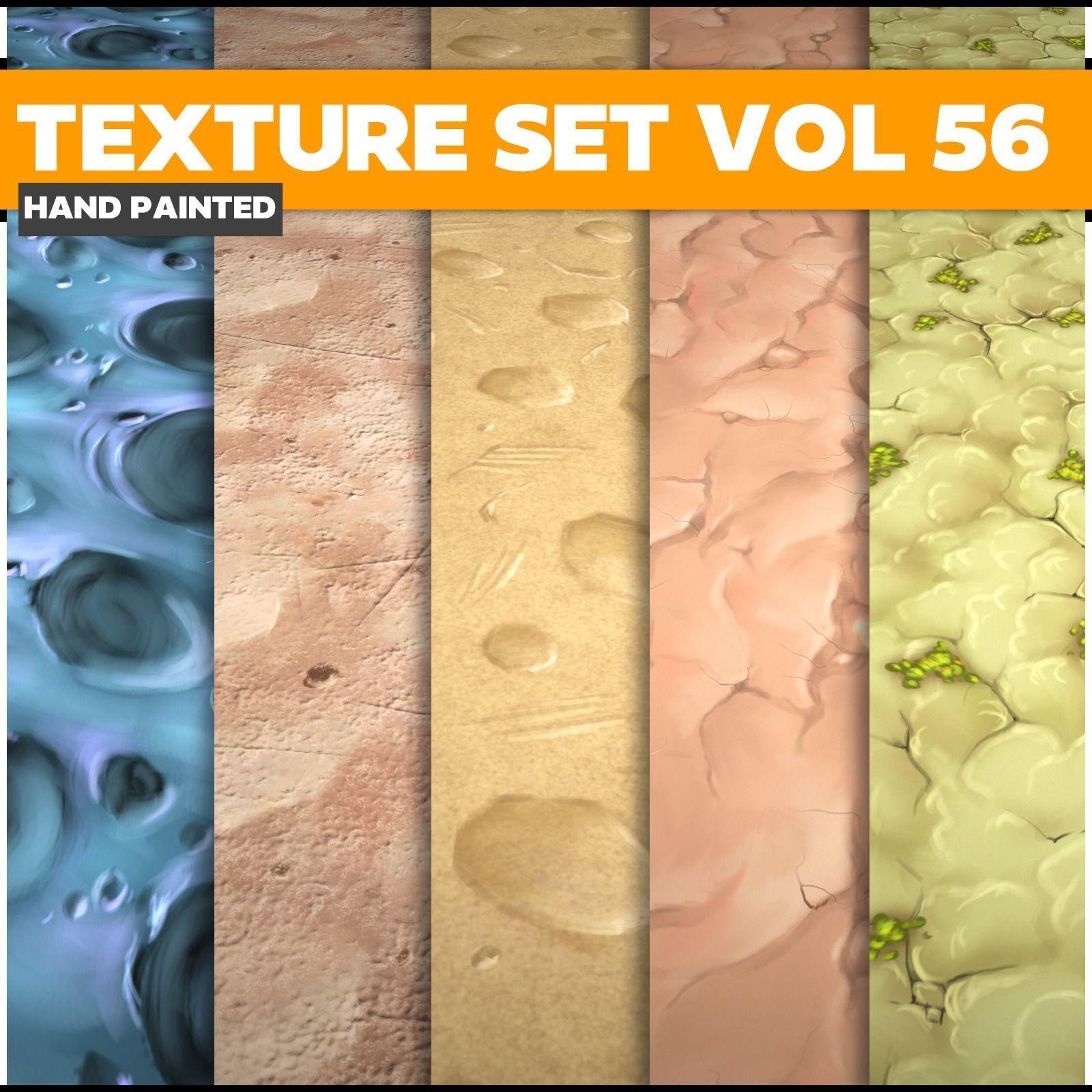 Terrain Vol 56 - Game PBR Textures
