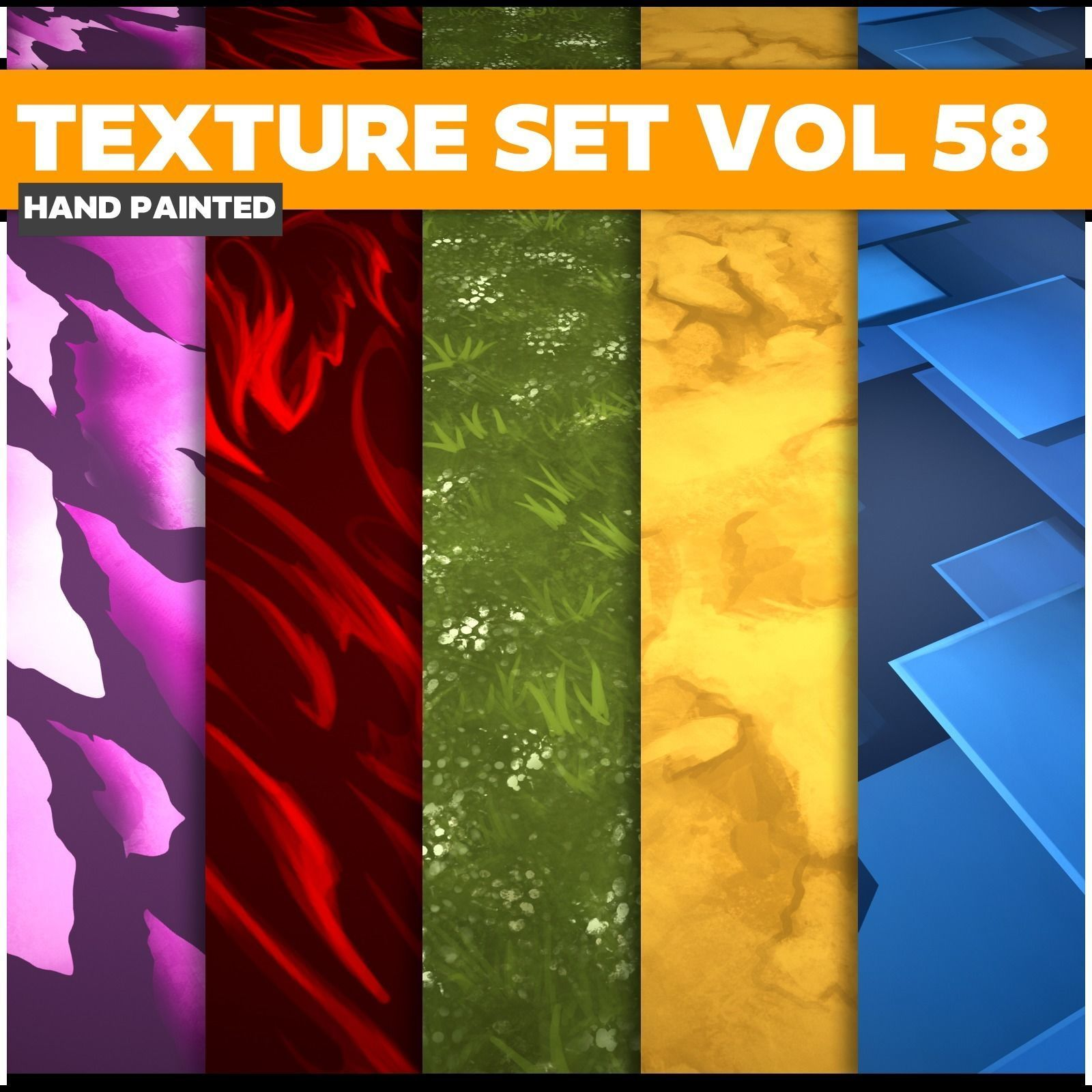 Surface Vol 58 - Game PBR Textures