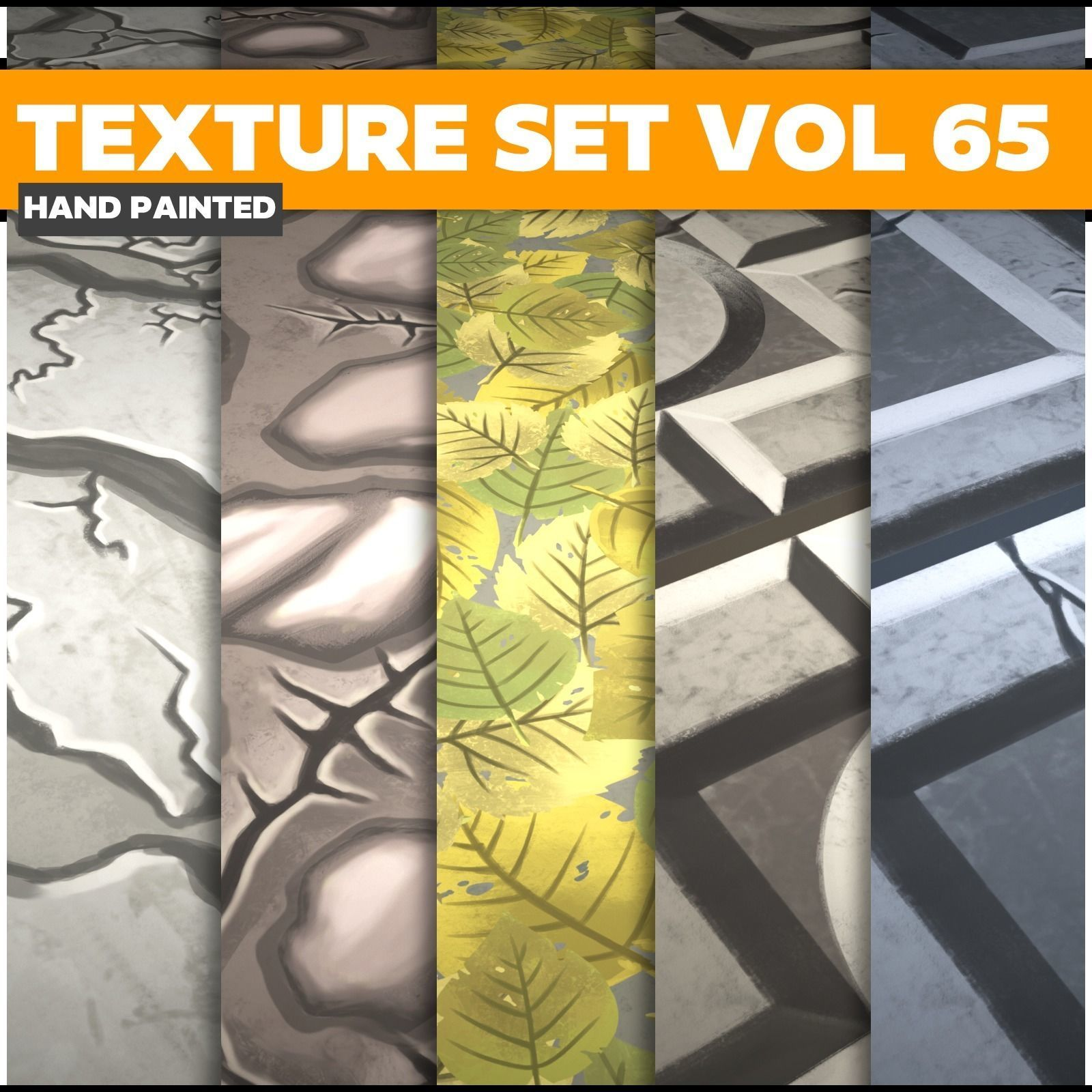 Mix Vol 65 - Game PBR Textures