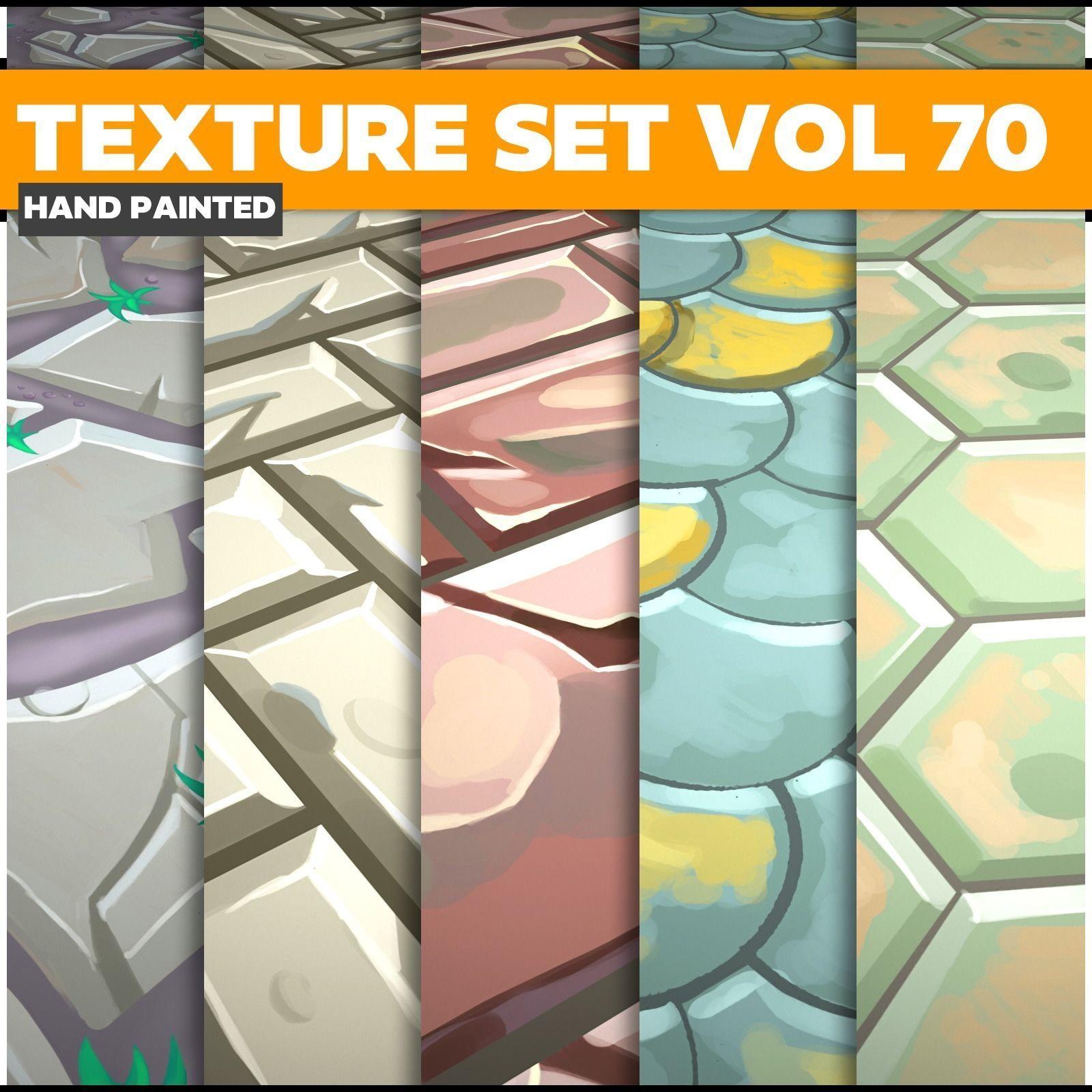 Mix Vol 70 - Game PBR Textures
