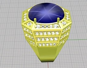 Diamond ring owan 3D printable model