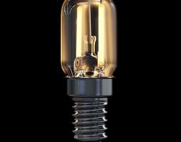 LED Filament Bulb 12 3D Model