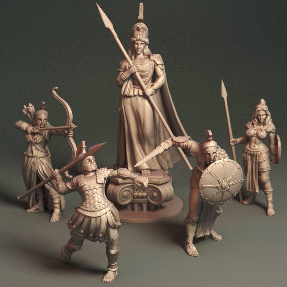 Daughters of Athena - Bundle