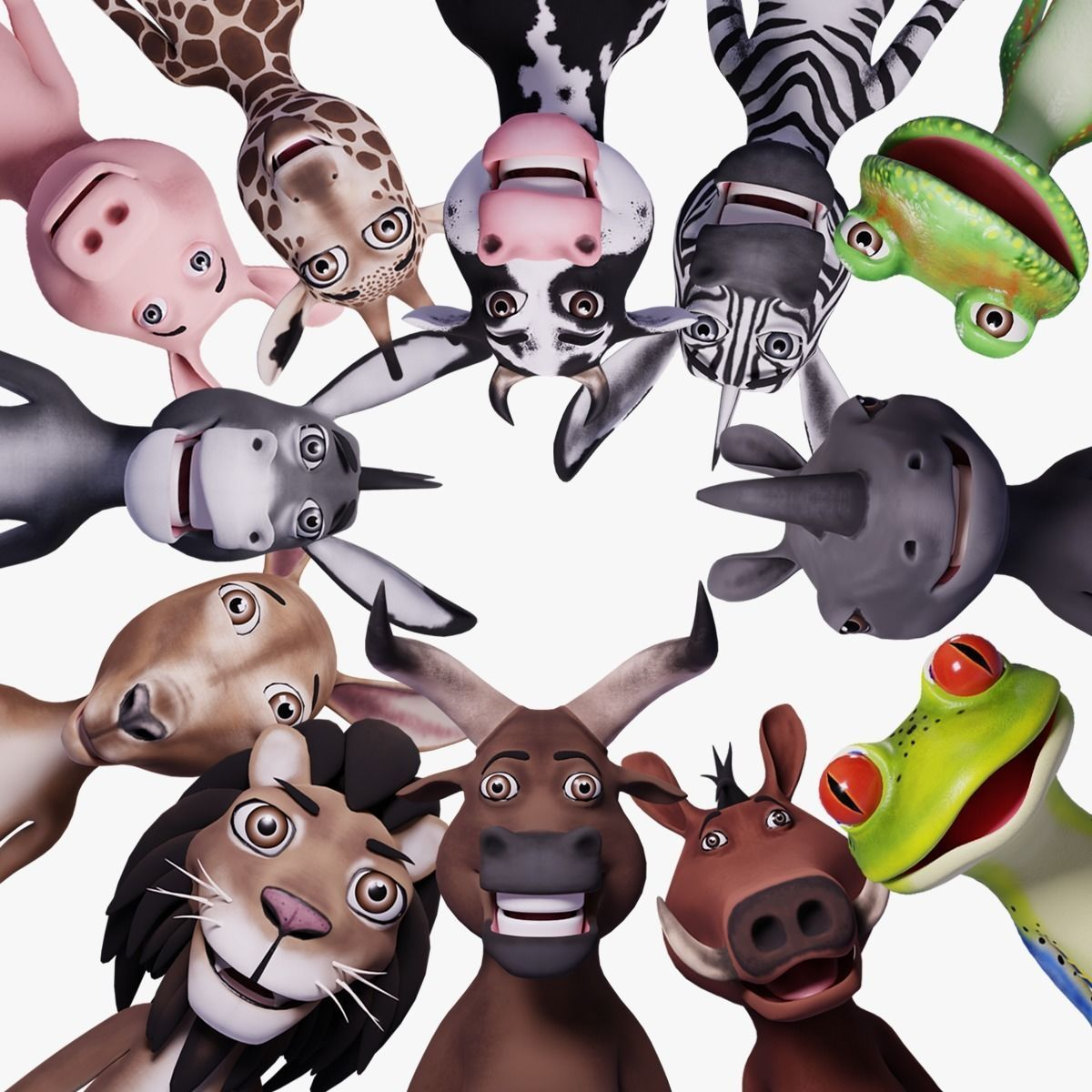 Toon Humanoid Animals Ultimate Vol 1