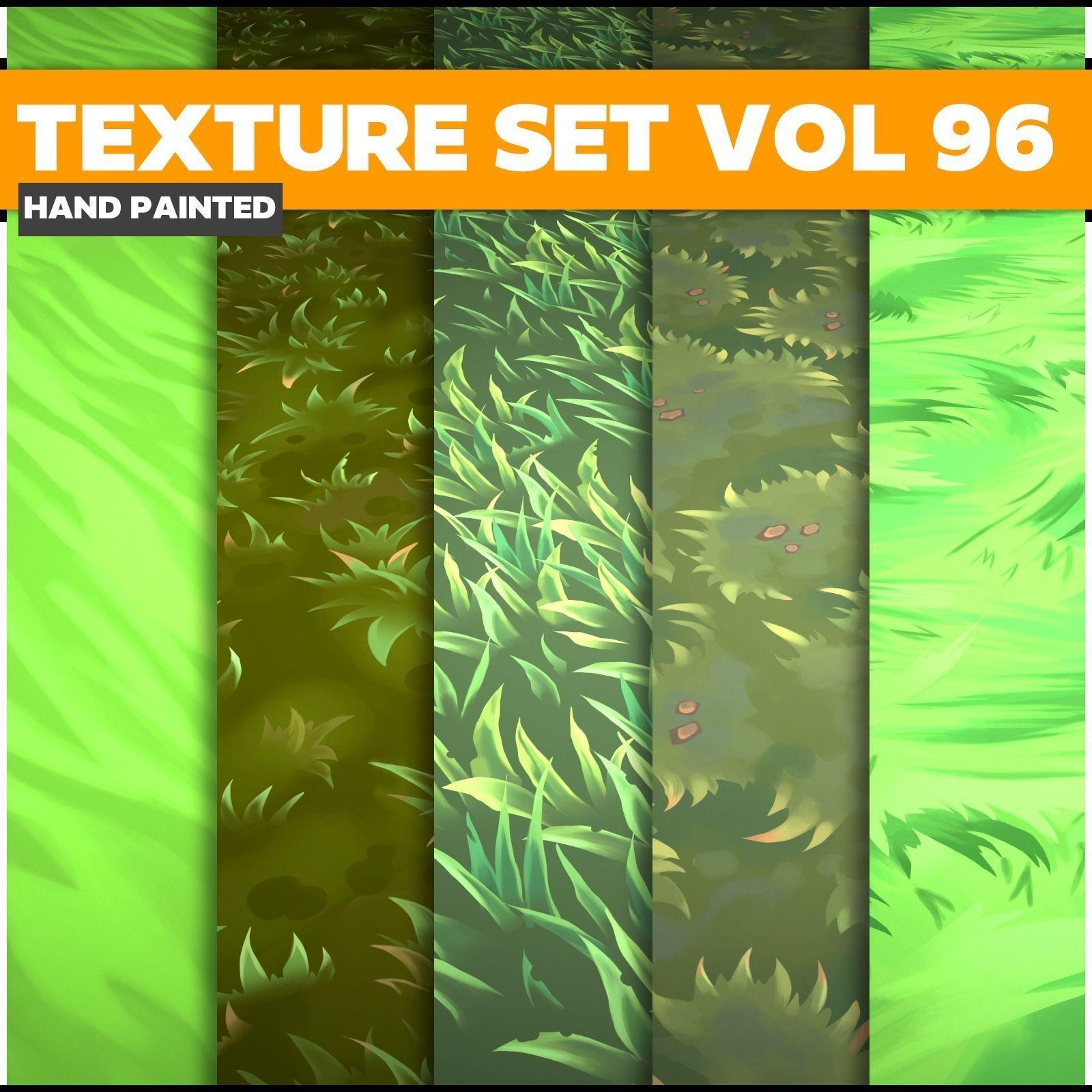 Grass  Vol 96  -  Game PBR Textures