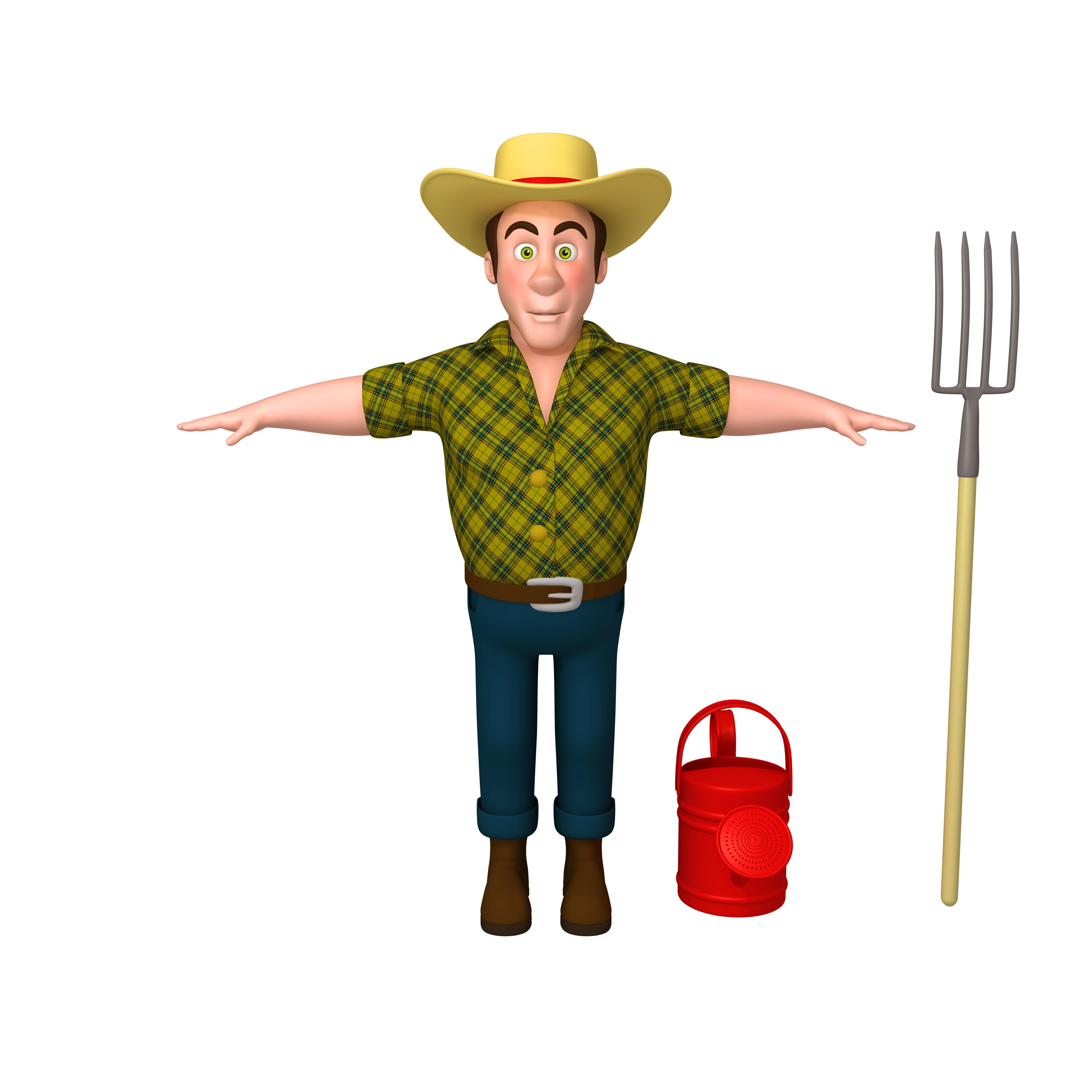 Farmer 03 Cartoon