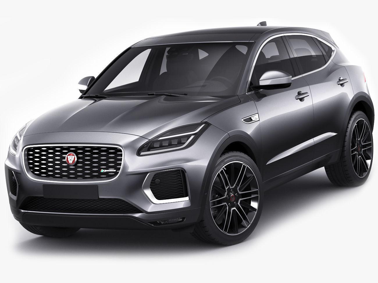 3D model Jaguar E-pace 2021 | CGTrader