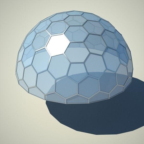 Metallic structure truss 07 Dome