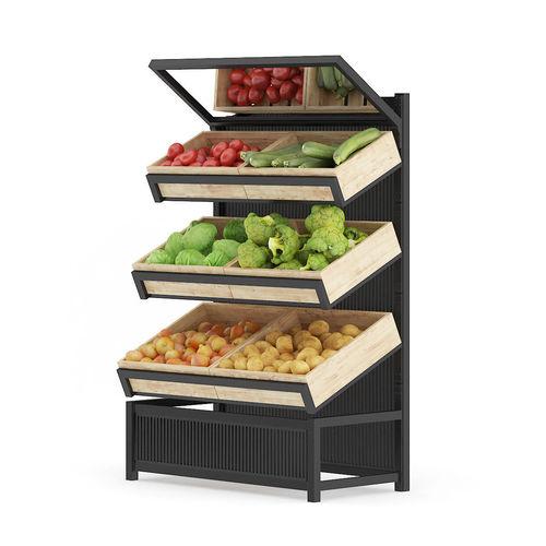 market shelf   vegetables 3d model max obj fbx c4d ma mb mtl 1