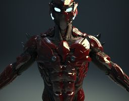 sci-fi character v2 3d model